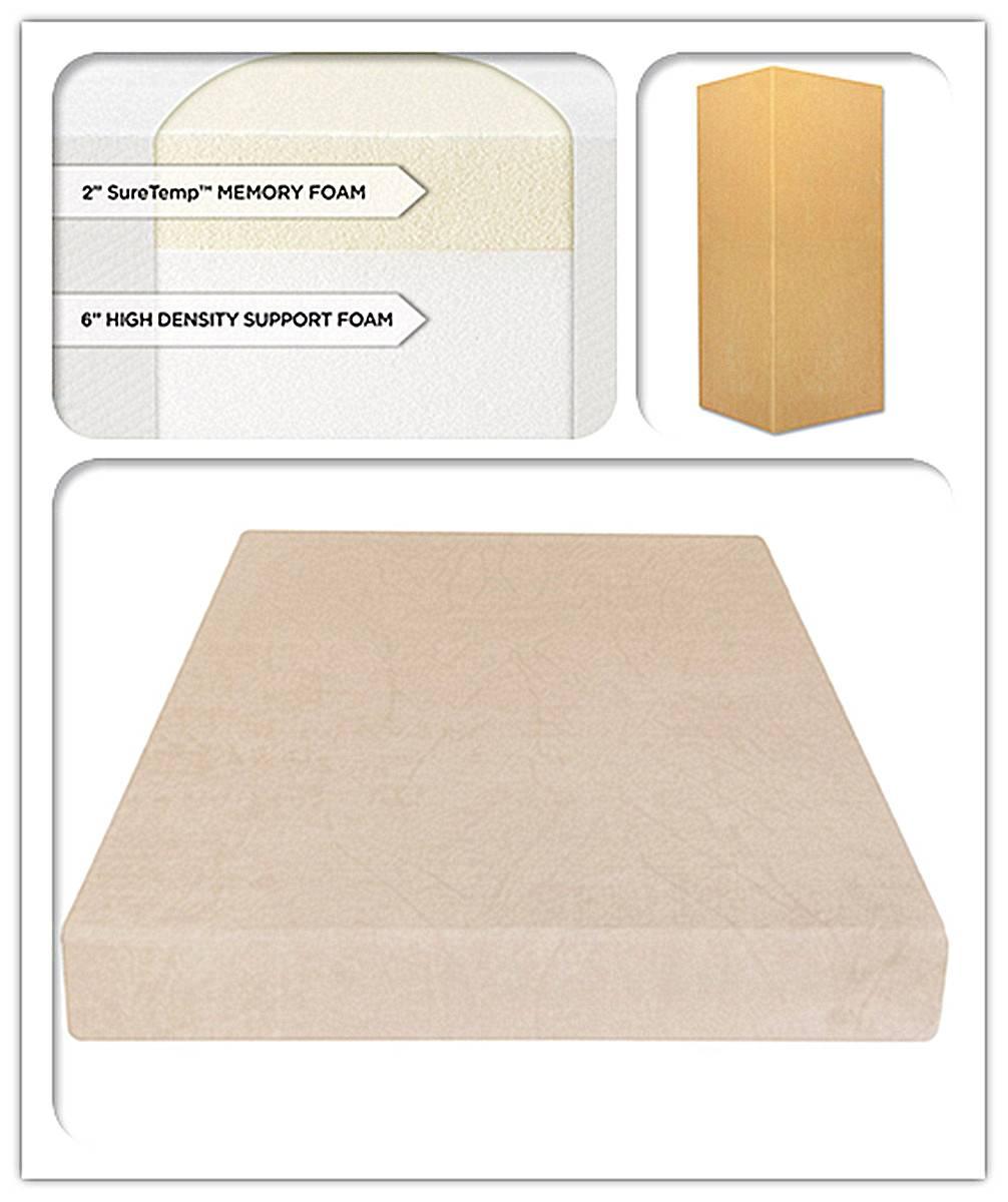 8-Inch SureTemp Memory Foam Mattress