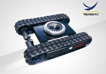 YJA04 RUBBER TRACK UNDERCARRIAGE WITH SLEW BEARING