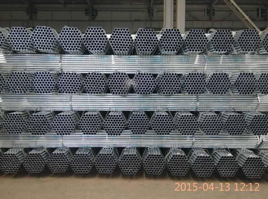 gi pipe galvanized pipe zinc coating 60-80g/m2 in China Dongpengboda