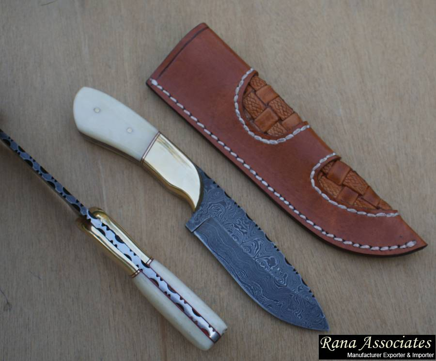 Custom Hand Made Damascus Knife