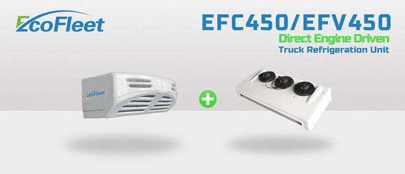 Engine Driven Front Mounted Truck Refrigeration Units EFC450/EFV450