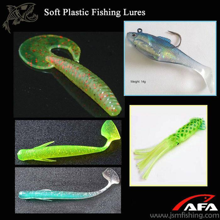 Wholesale Top Quality cheap Chinese fishing tackle soft plastic grub fishing lure
