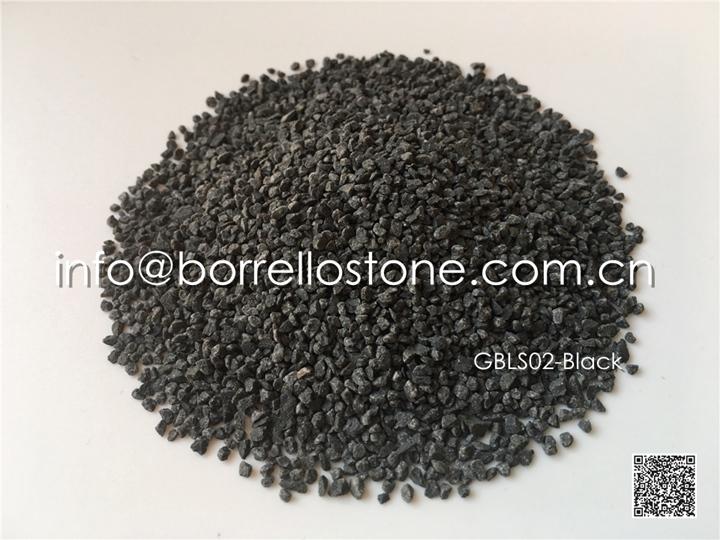 black basalt sand
