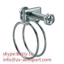 Double Wire Hose Clamp