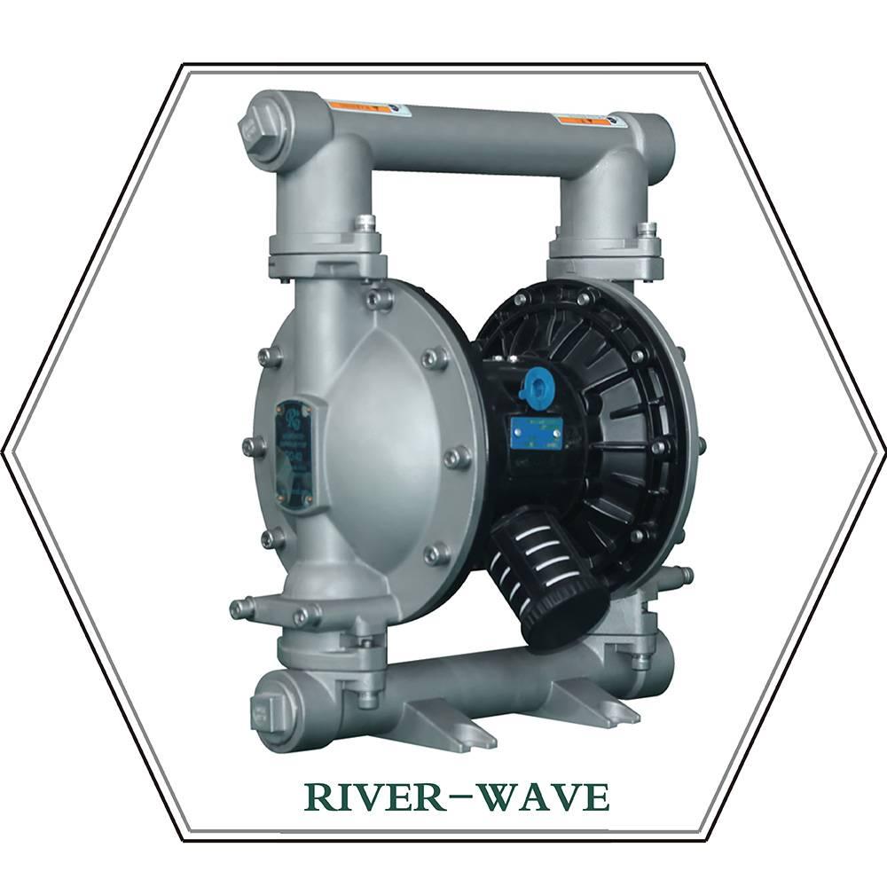RV40 Pneumatic diaphragm pump (metal)
