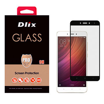Dlix 2.5D Tempered Glass Screen Protector for Xiaomi Redmi Note 4X