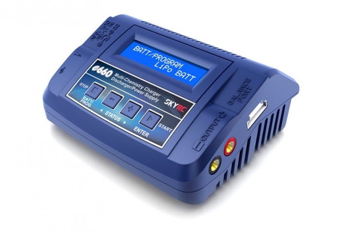 SkyRC e660 AC/DC Balance charger/Discharger/Power Supply