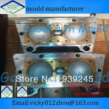 European standard two cavities plastic blowing mould factory
