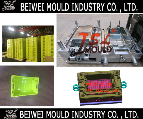 Premium Customized Plastic Fish Crate Mould