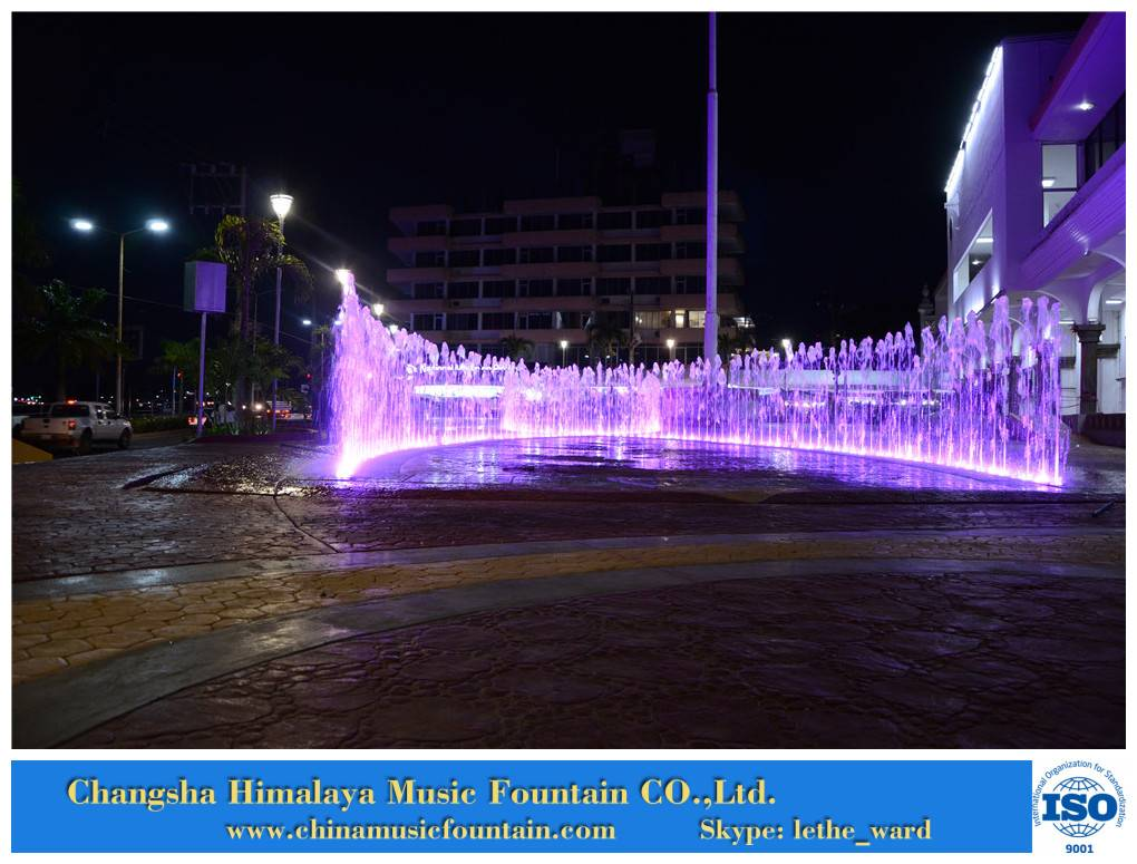 Dry Type Water Music Fountain