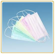 Colorful Non-woven Disposable Face Mask For Surgical