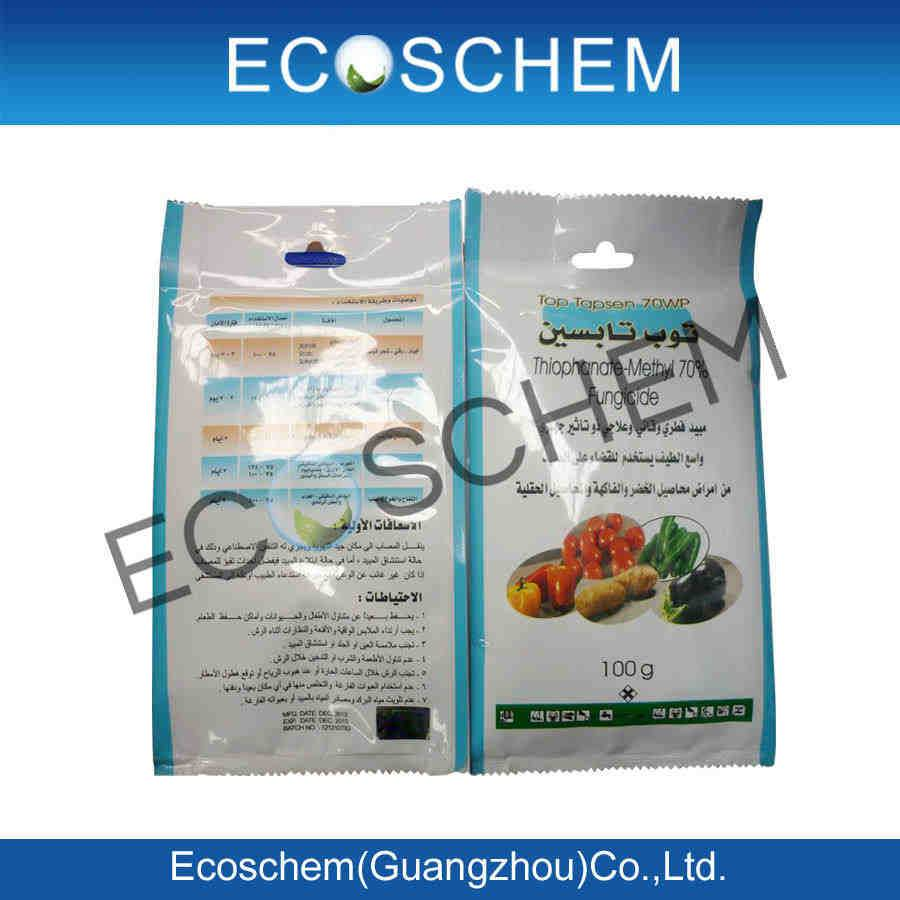 Agrochemical Fungicide Thiophanate-methyl 70% WP 500g/L SC