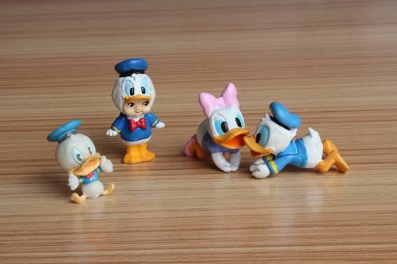 Pass EN71 PVC Donald Duck Toy