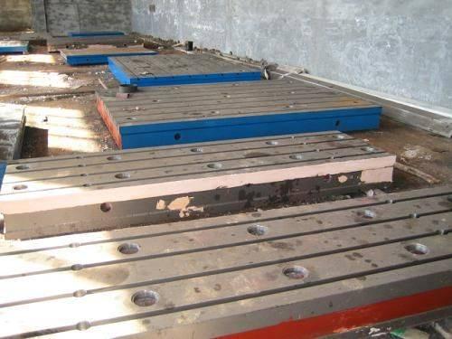 Foundation Precision Welding Level Cast Iron T-Slot Table