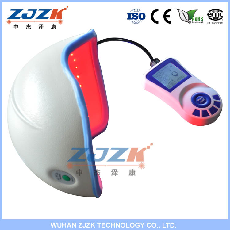 Hot sale ZJZK newest laser faster hair growth product / hair cap for treatment(CE approved)