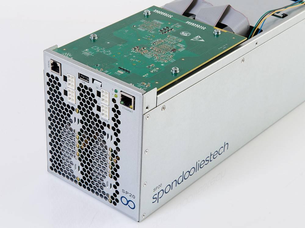 "Spondoolies-Tech SP20 ""Jackson"" - 1.7TH Bitcoin Miner"