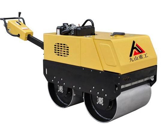 JS-YL-600C Walk-behind infinite variable double drum road roller