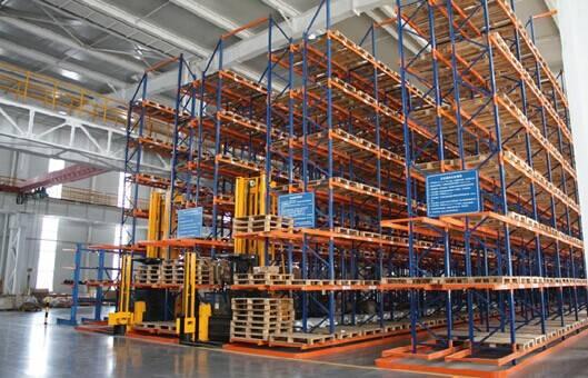 Best Storage Narrow Asile Pallet Racking System