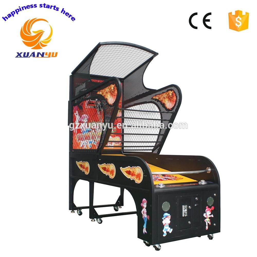 Hot sale arcade basketball hoop game machine street basketball shooting game machine