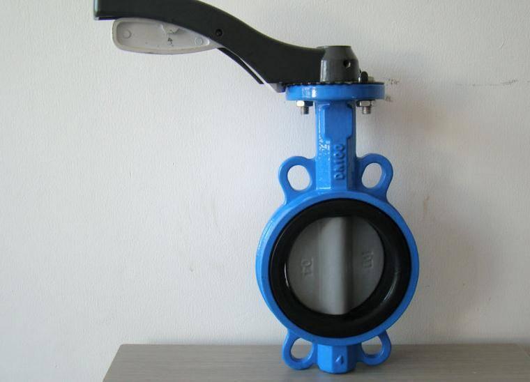 hander wafer butterfly valve