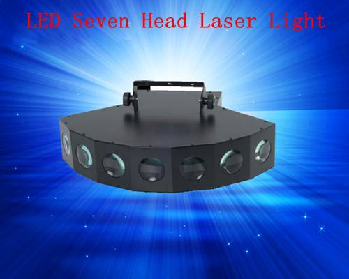 Stage Lighting LED 7Heads Laser Light