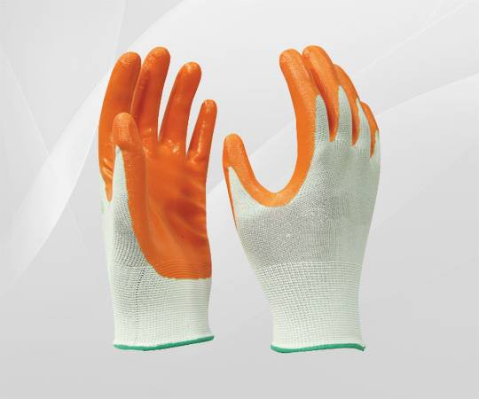 Nitril Coated Glove safety glove/best price/all color