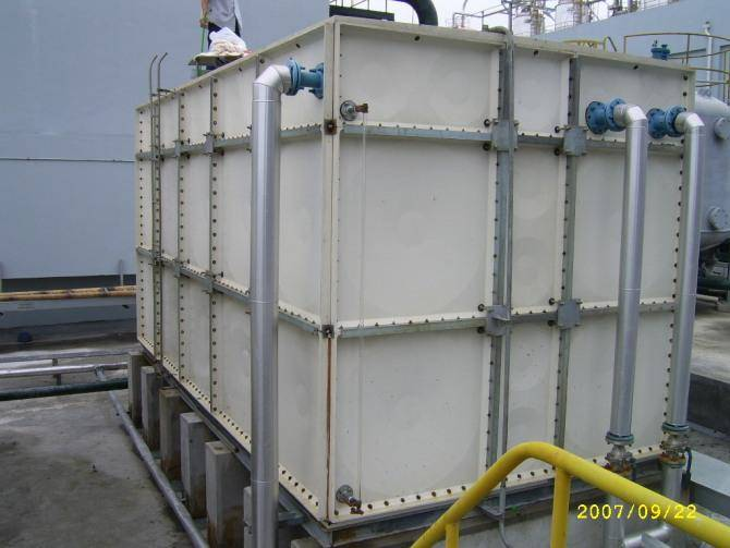 smc panel water storage tanks