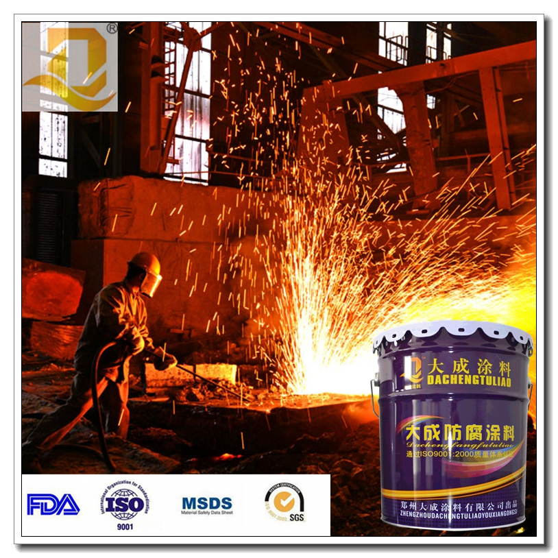 Silicone heat resistant paint 200 degree