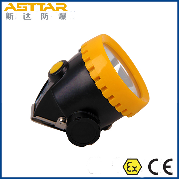 IP65 waterproof led cordless miners cap lamp, atex certified led mining headlight