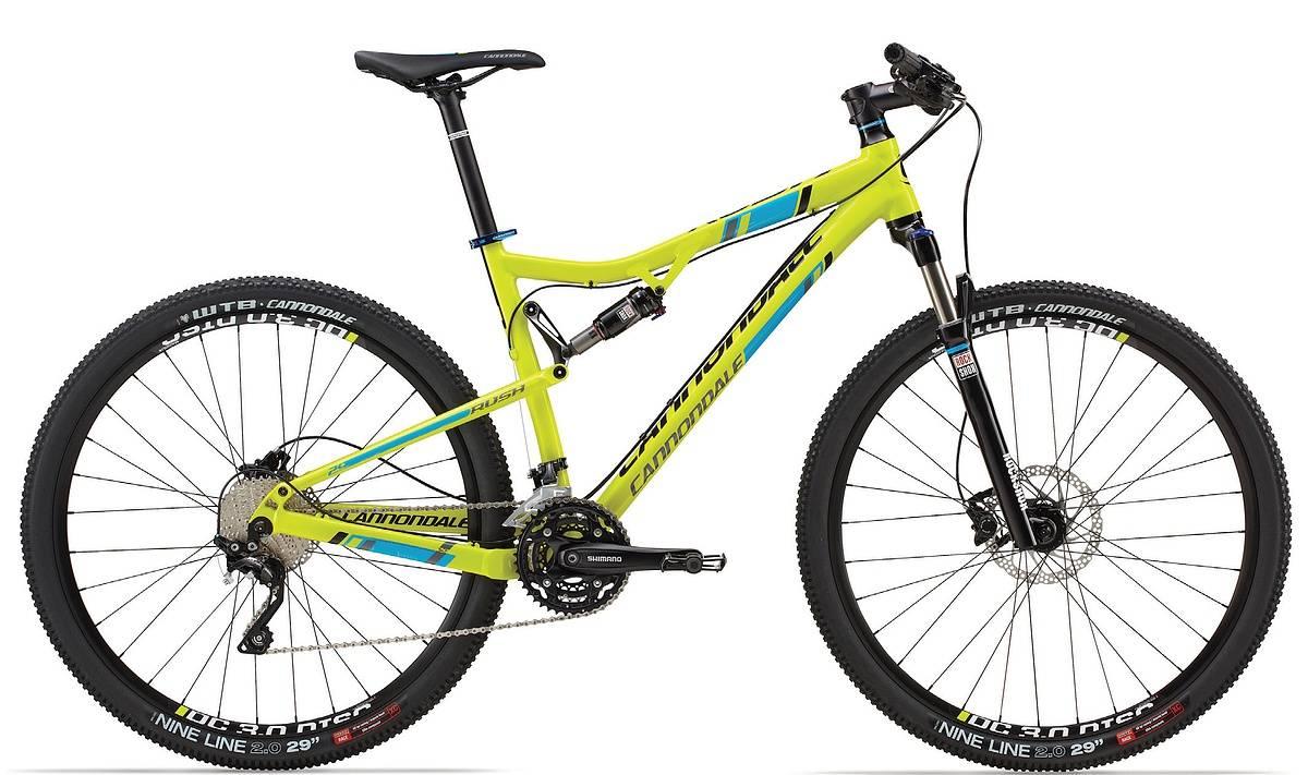 Cannondale Rush 29 1 Mountain Bike 2014