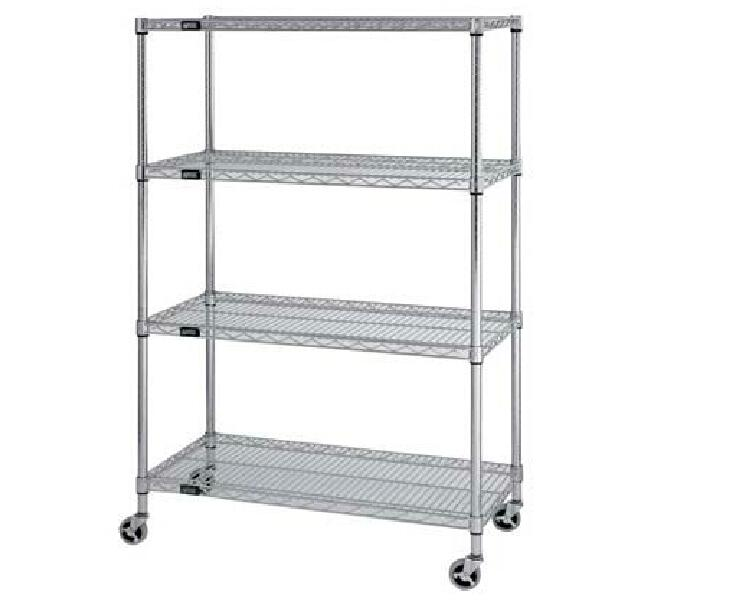 High Quality Hot Sale low price hot sell Heavyduty wire chrome shelf