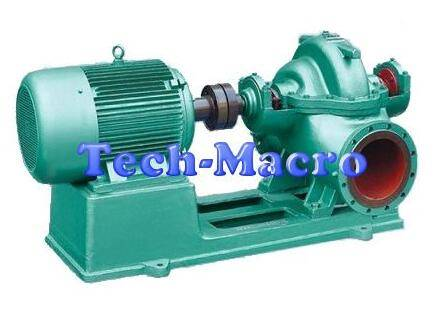 Axial split casing large flow water pumps(centrifugal pumps)
