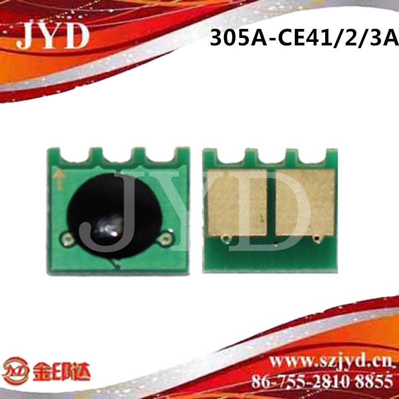 Compatible JYD-H300(C/M/Y) toner chip for H Laser jet Enterprise 300 color M351/M375nw/400