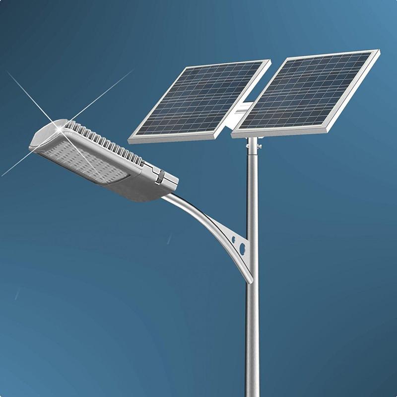 20/30/40/60/80/100/200 Watt LED Solar Street Light Motion Sensor Integrated Solar Area Lighting