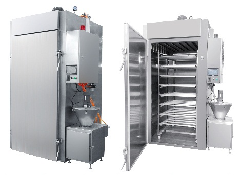 Automatic Meat Suasage Smoking Machine/Meat Smoke House Oven/Commervial Fish Smoker