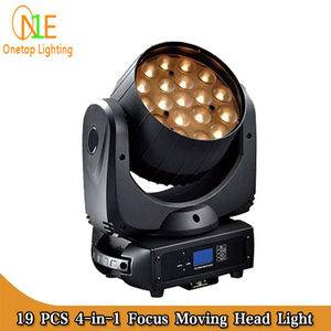 DJ Light Factory One Top LED Light 19pcs 12w big bee eye beam moving head light zoom effect lighting