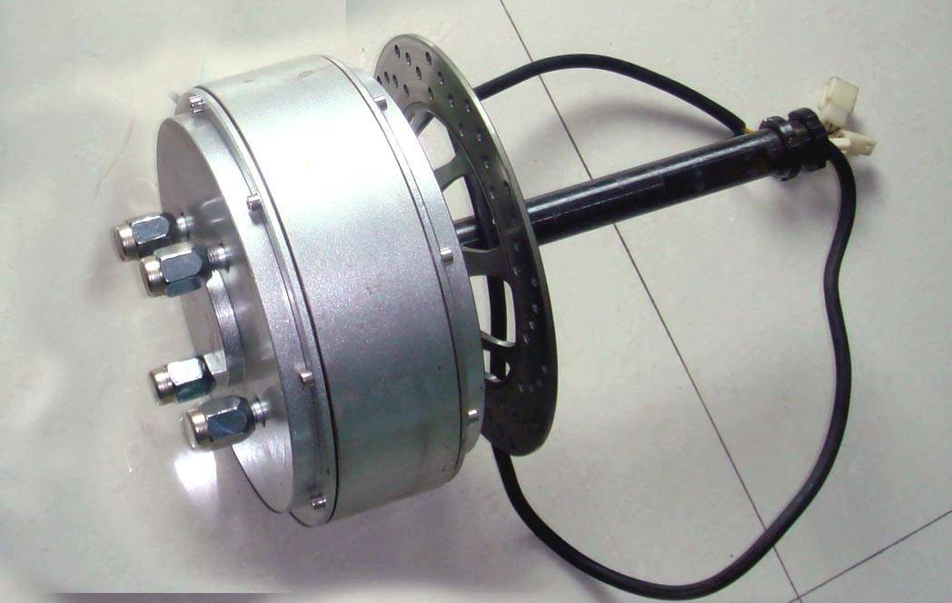 car brushless hub motor 48-122v 1500w-6000w