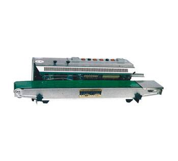 FRM980W horizontal continuous band sealers with solid ink printing
