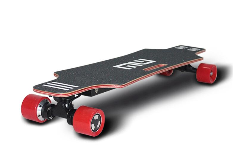 dual motor commute adult electric skateboard with controller
