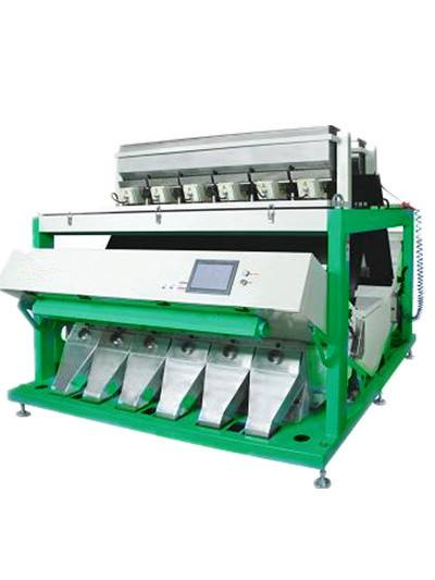 Grain CCD color sorter