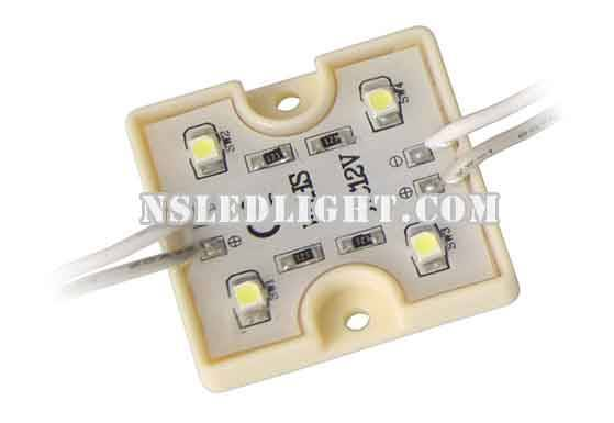 Waterproof SMD3528 4pcs led modules for channel letters 12V 0.72W CE RoHS China Manufacturer