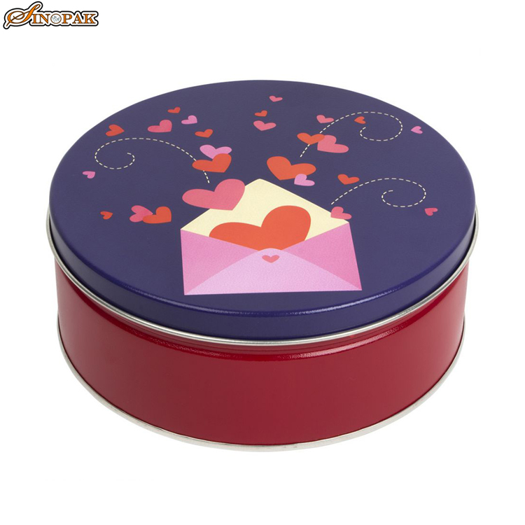 Custom Stylish Tin Box empt metal tin box cookie tin box