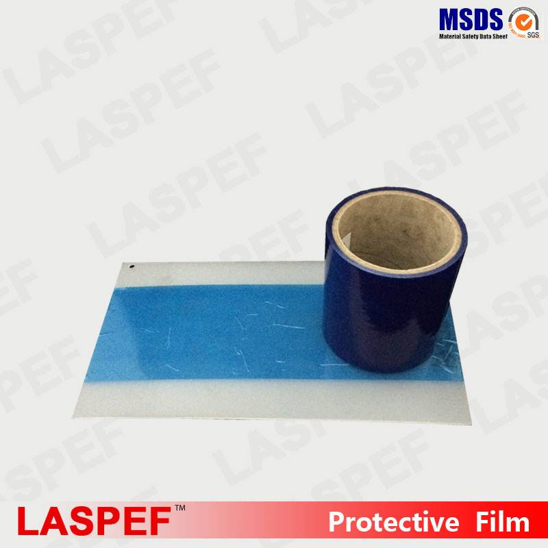 Varnished aluminum surfaces protection making tape
