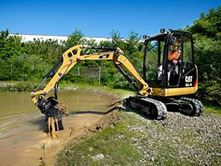 Rubber track for Caterpillar Mini Excavators & Compact Track Loaders