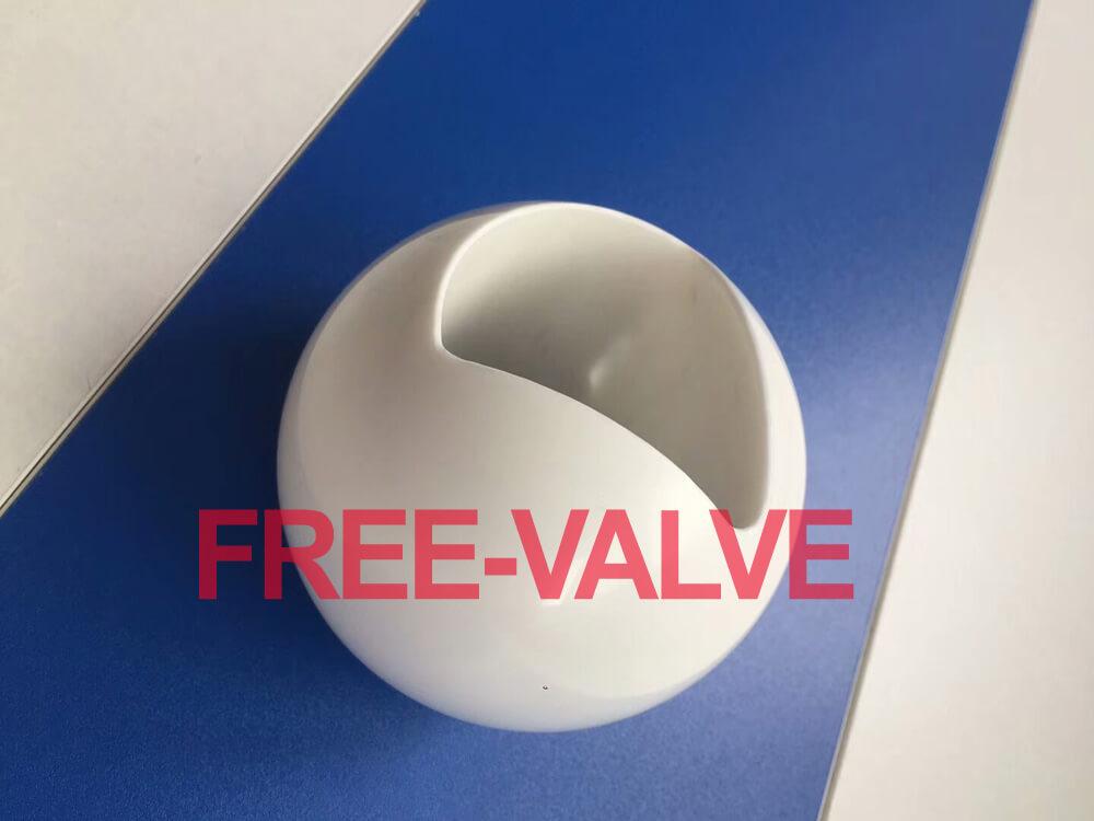 Pneumatic Zirconia High Anti-Corrosion Ceramic Lined Ball Valve