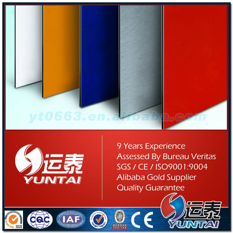 High quality PVDF coated ACP for exteral decorative