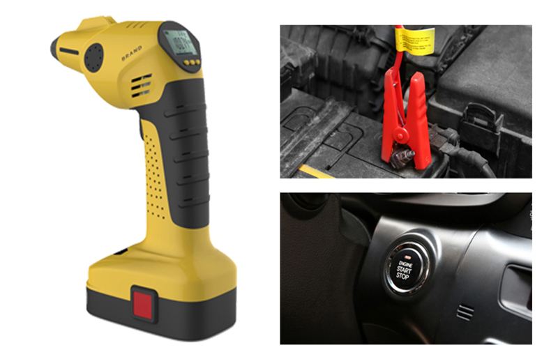 multifunction cordless air compressor air dryer with TPMS