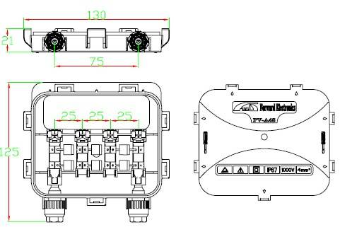 PV junction box A4S