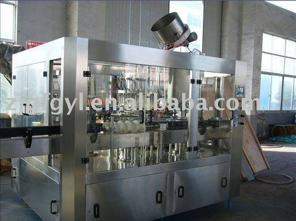 DHG24-8 glass bottle filling machine