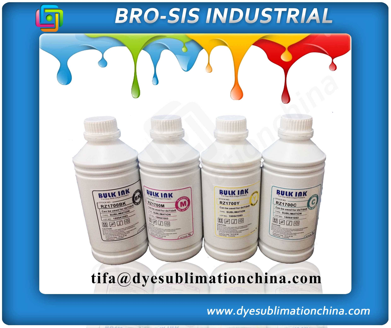 Water based inkjet sublimation ink